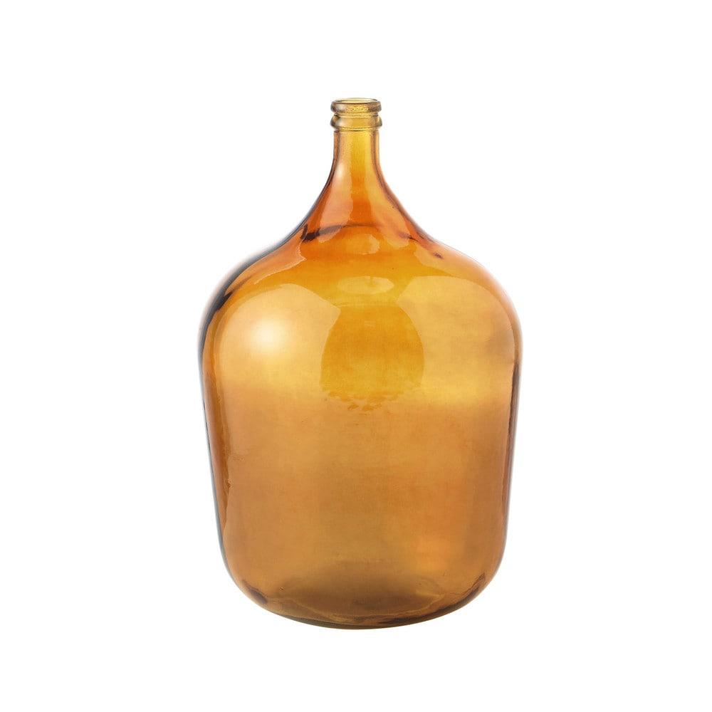 oural glass carboy vase in brown h 56cm maisons du monde. Black Bedroom Furniture Sets. Home Design Ideas