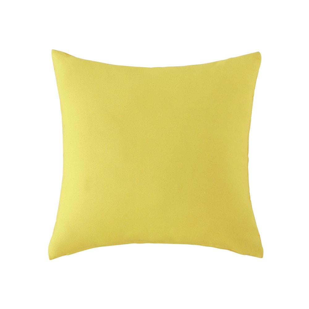 Outdoor Kissen, 50 X 50 Cm, Gelb | Maisons Du Monde 17 Kissen Designs Gute Laune Sommer