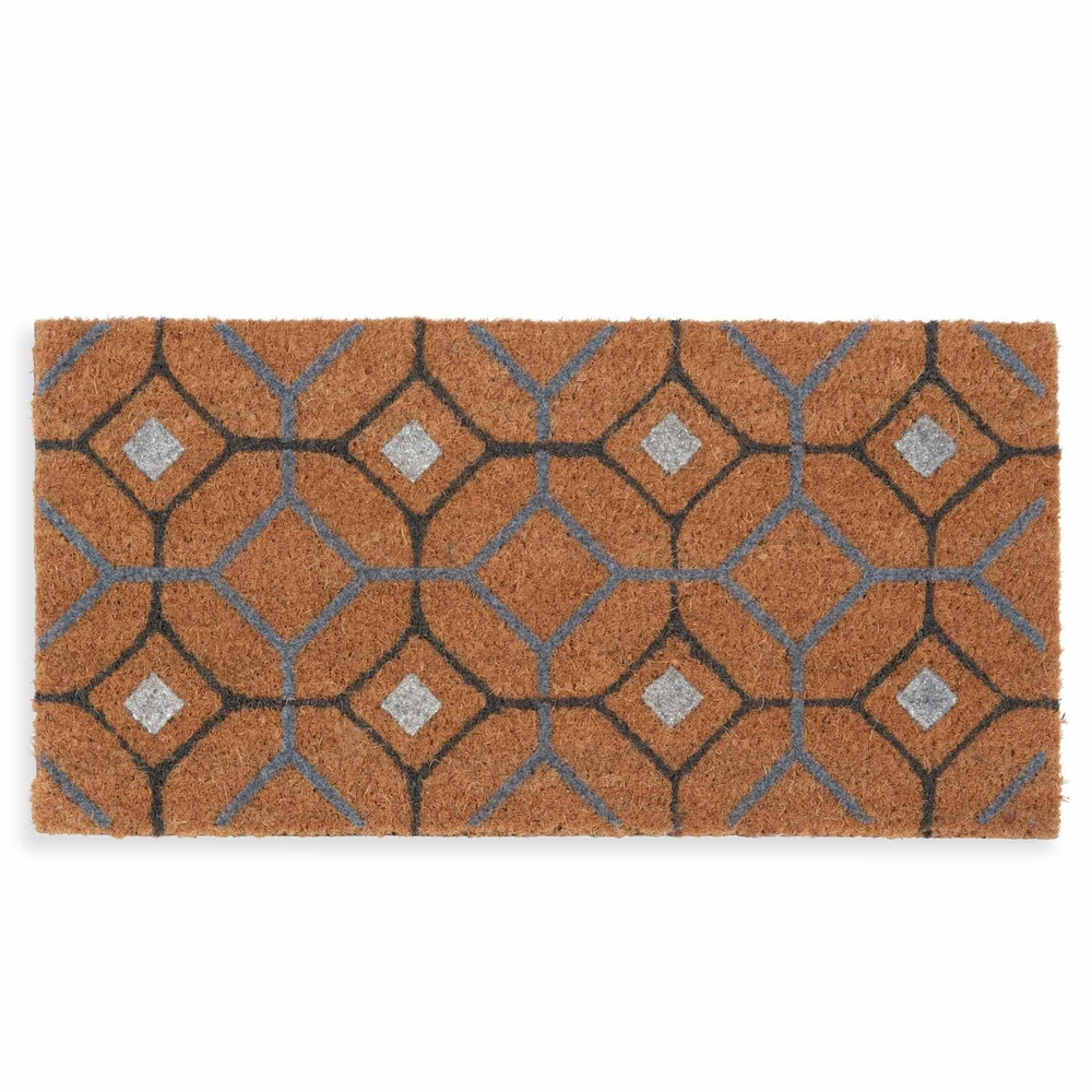 Paillasson motifs carreaux de ciment witman maisons du monde for Tapis carreaux de ciment maison du monde