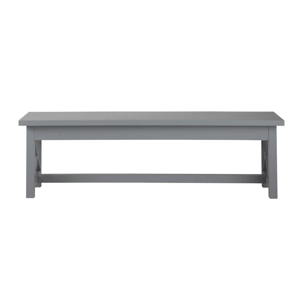 Panca da tavolo in legno grigio - Newport Newport  Maisons du Monde