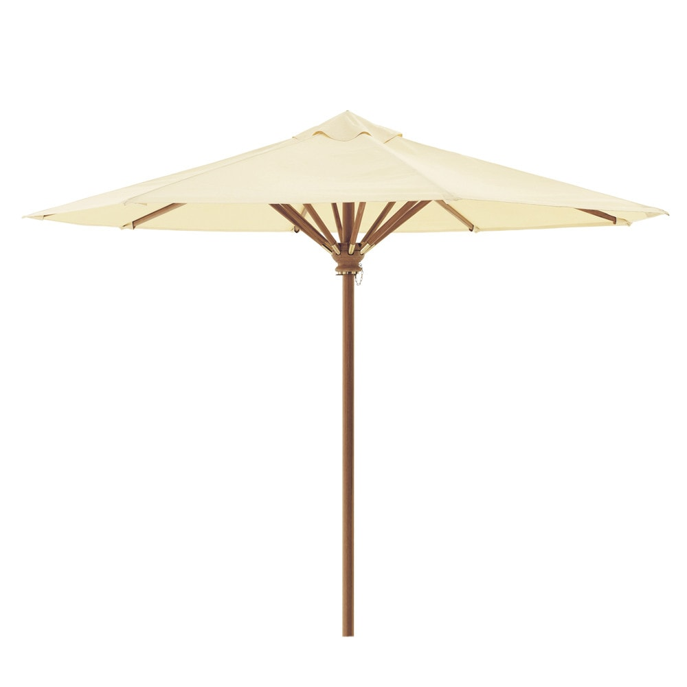 parasol 350 cm rond ivoire ol ron maisons du monde. Black Bedroom Furniture Sets. Home Design Ideas