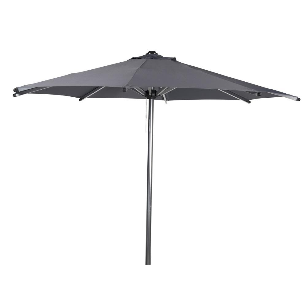 parasol de jardin gris d 350 cm marbella maisons du monde. Black Bedroom Furniture Sets. Home Design Ideas