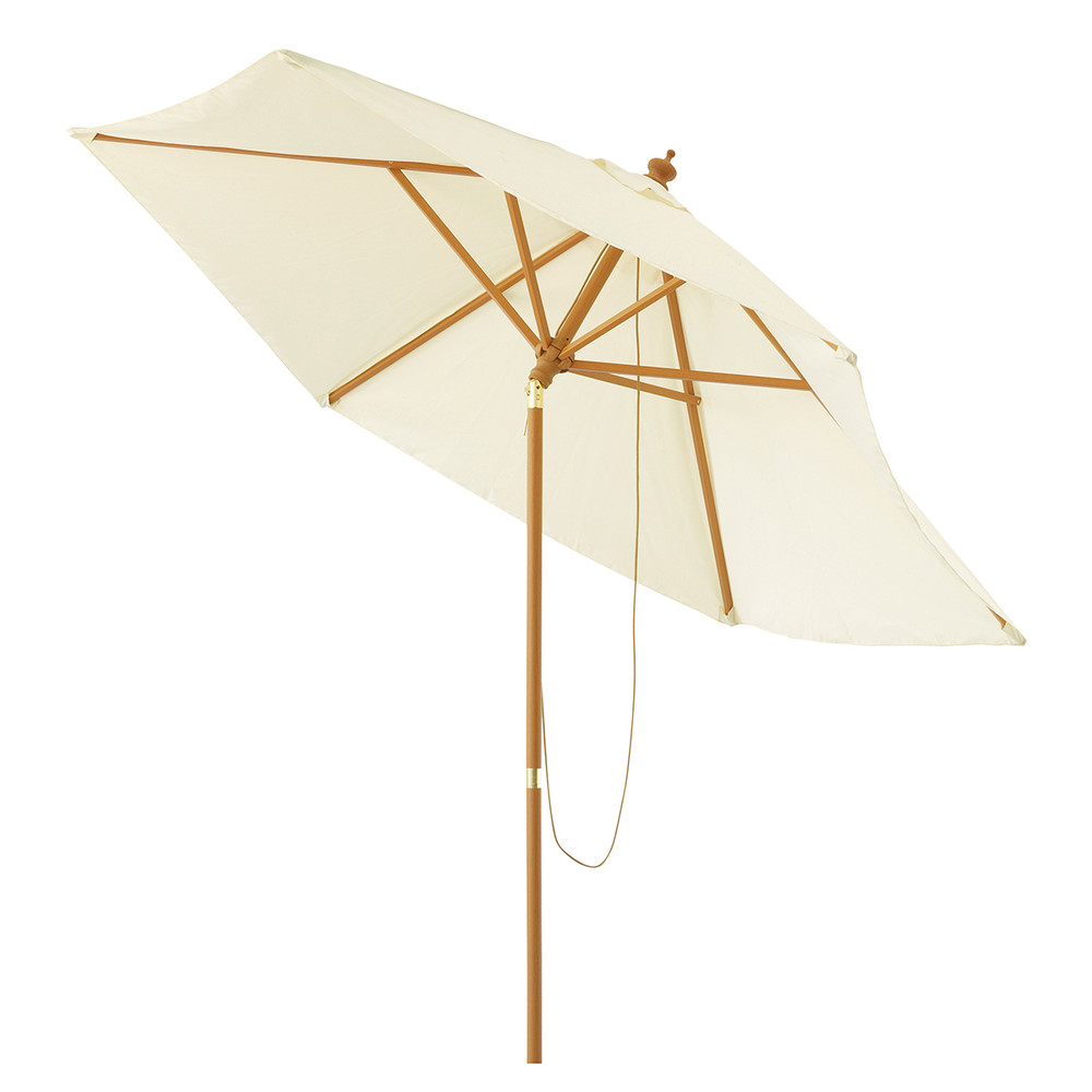 parasol de jardin inclinable cru d 300 cm palma maisons du monde. Black Bedroom Furniture Sets. Home Design Ideas