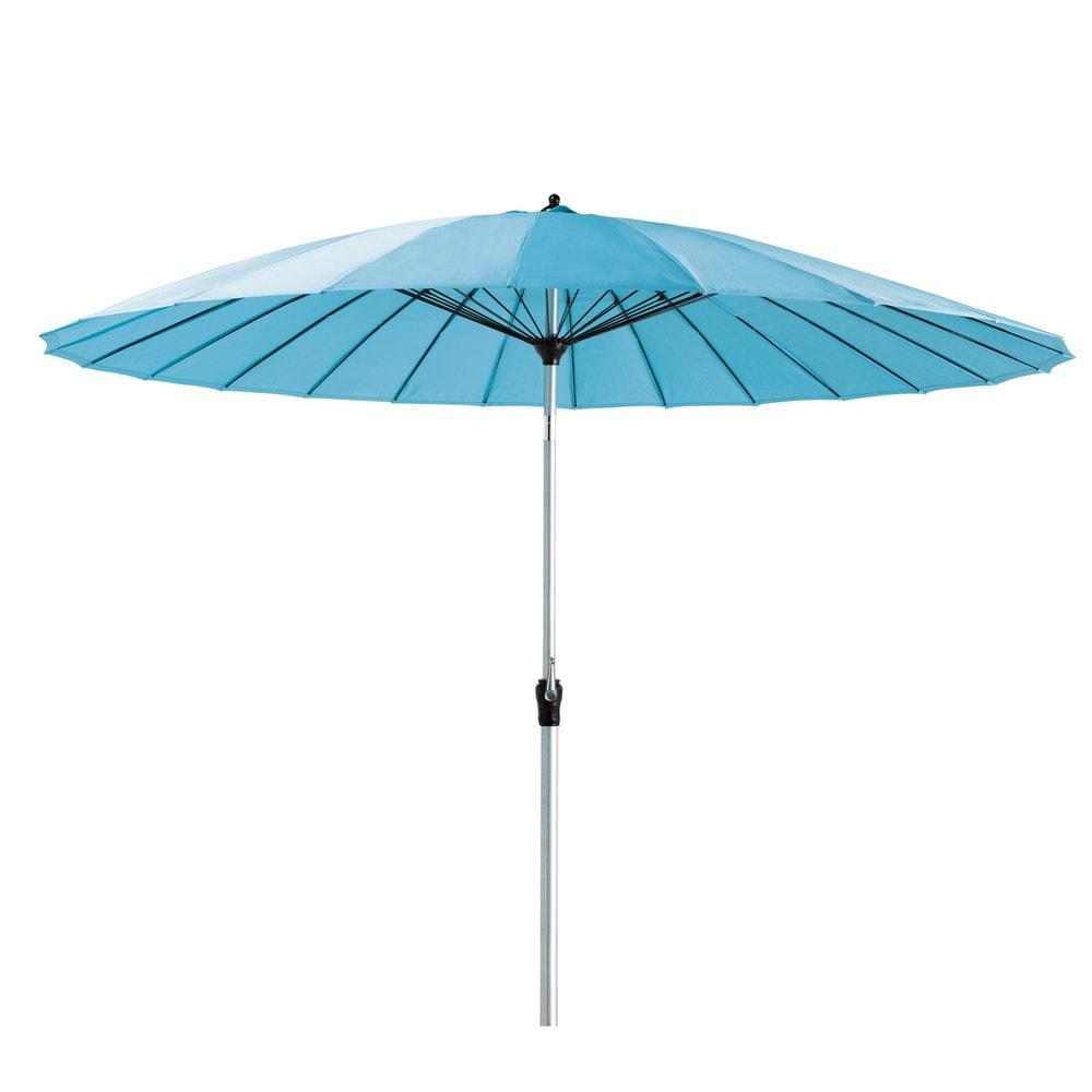 parasol de jardin turquoise papaye maisons du monde. Black Bedroom Furniture Sets. Home Design Ideas