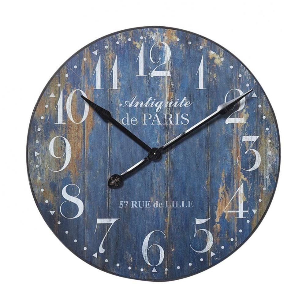 paris antiquity clock maisons du monde. Black Bedroom Furniture Sets. Home Design Ideas