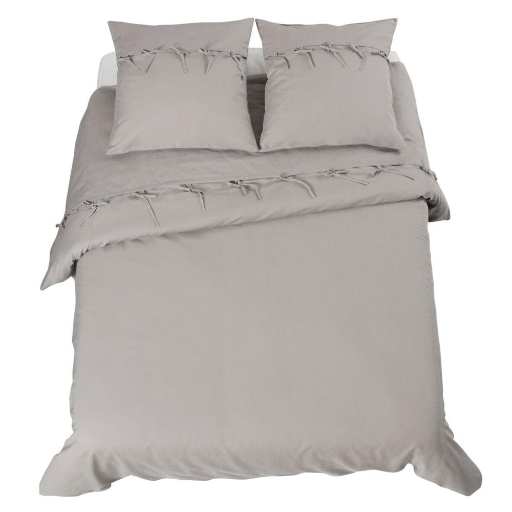 parure cosy grise 240x260 maisons du monde. Black Bedroom Furniture Sets. Home Design Ideas