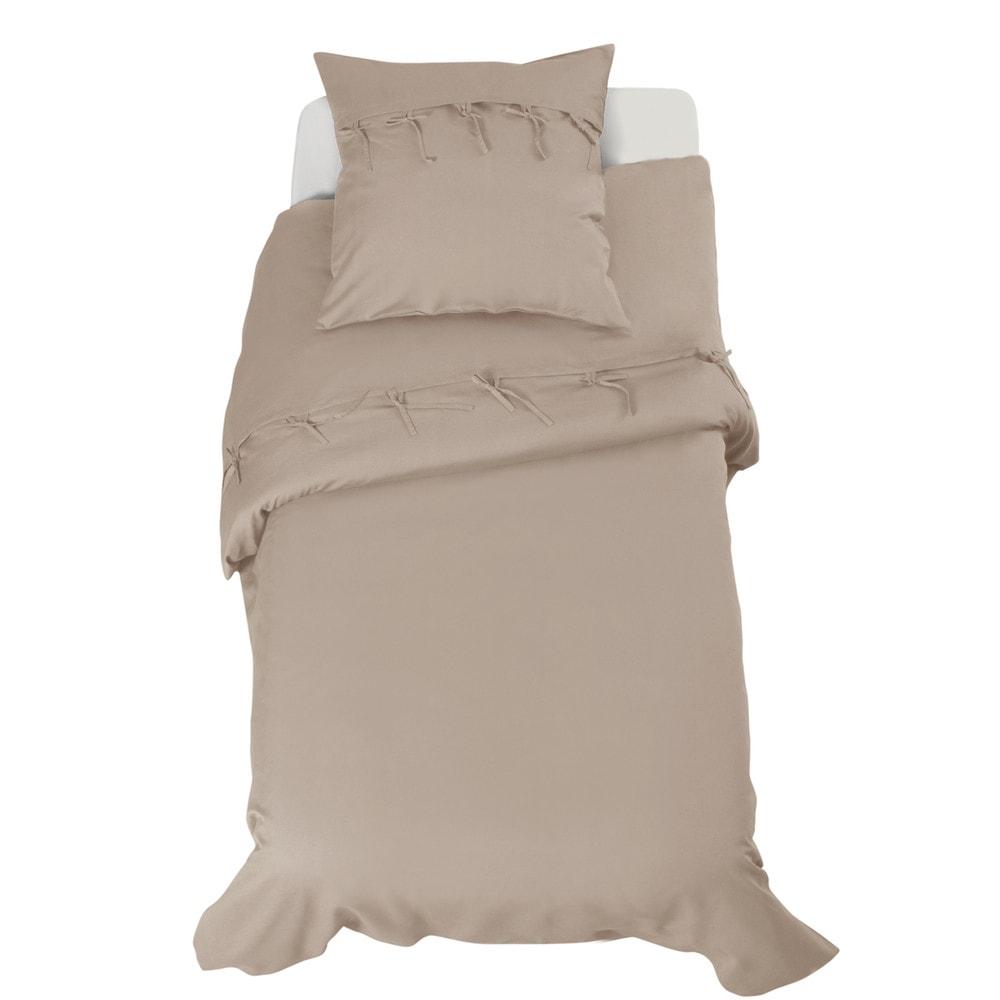 parure cosy lin 140x200 maisons du monde. Black Bedroom Furniture Sets. Home Design Ideas