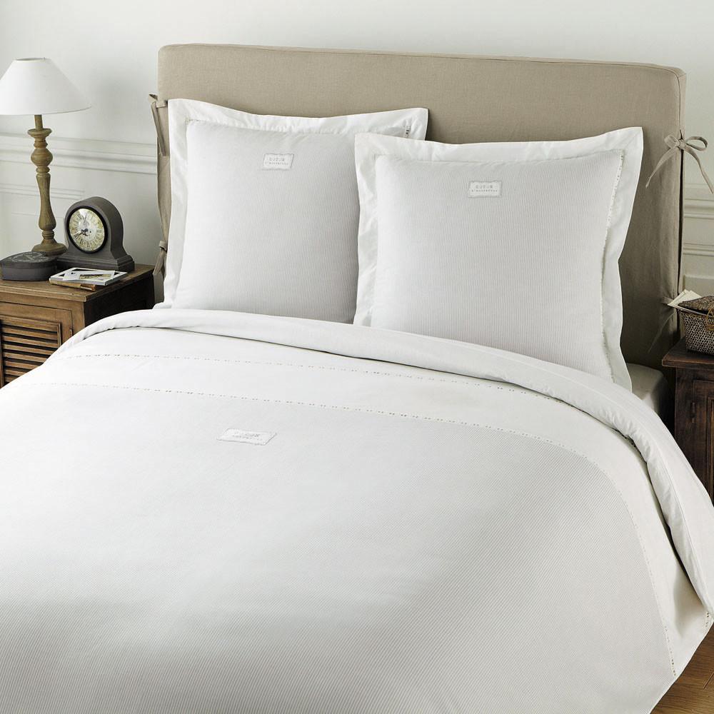 parure housse de couette coton d 39 autrefois 240x220. Black Bedroom Furniture Sets. Home Design Ideas