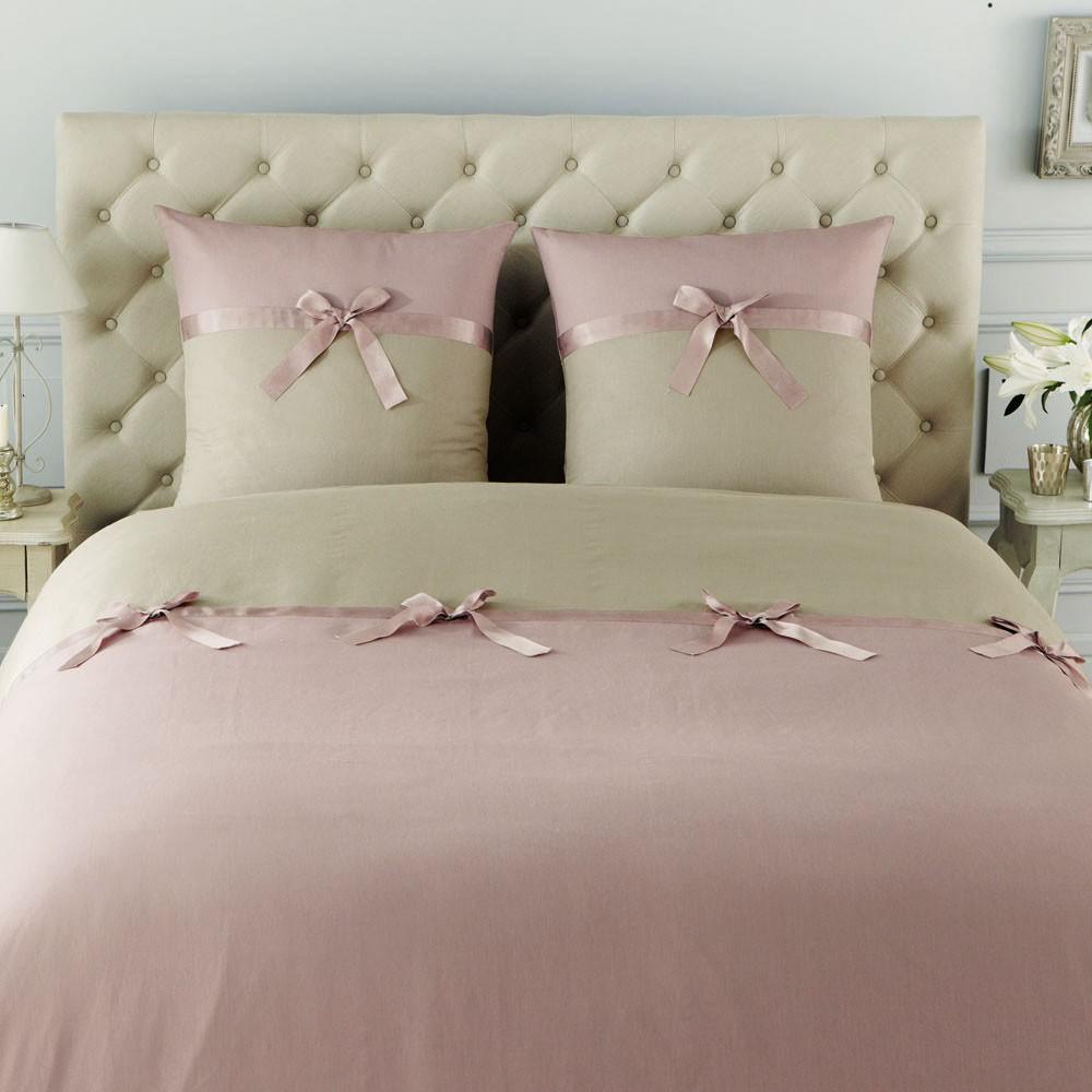 parure n ud lilas 260x240 maisons du monde. Black Bedroom Furniture Sets. Home Design Ideas