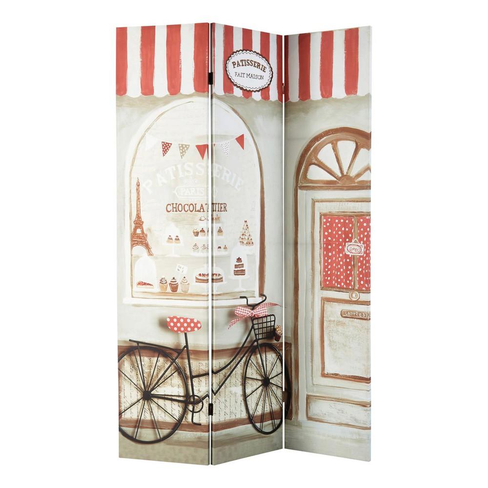 Home › decoratie › Kamerschermen › Pâtisserie de Paris houten ...