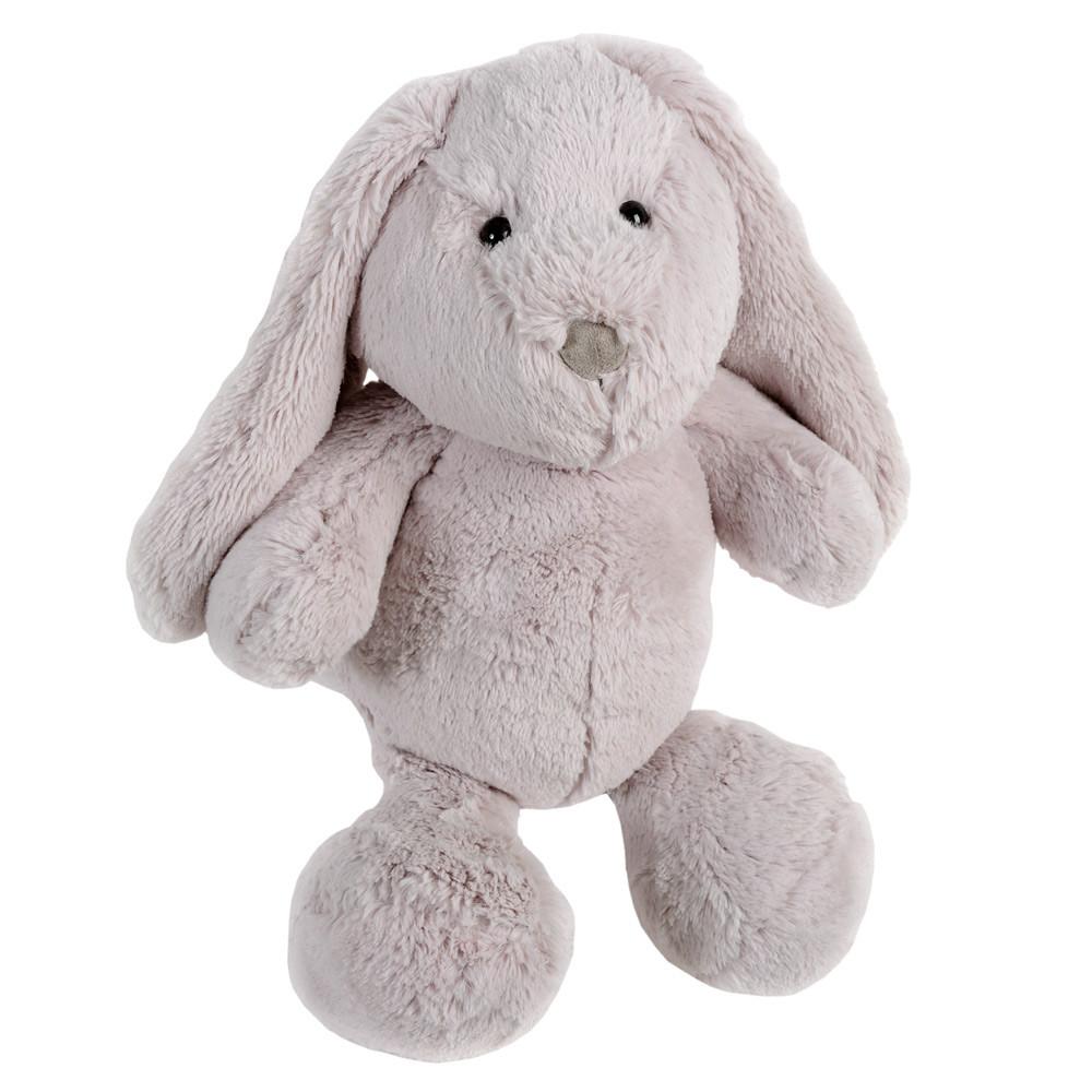 peluche enfant lapin grise h 35 cm bunny maisons du monde. Black Bedroom Furniture Sets. Home Design Ideas