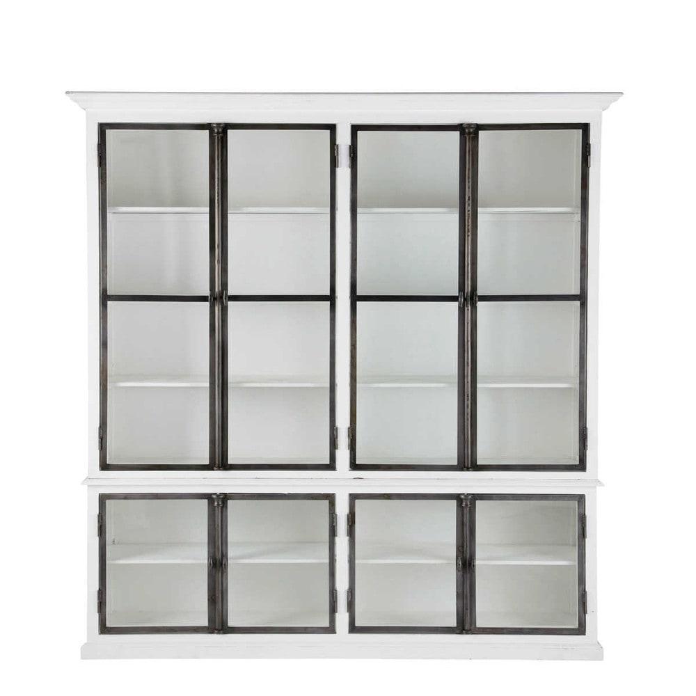 Novità mobili 2014 › Piattaia bianca in legno L 210 cm OSTENDE