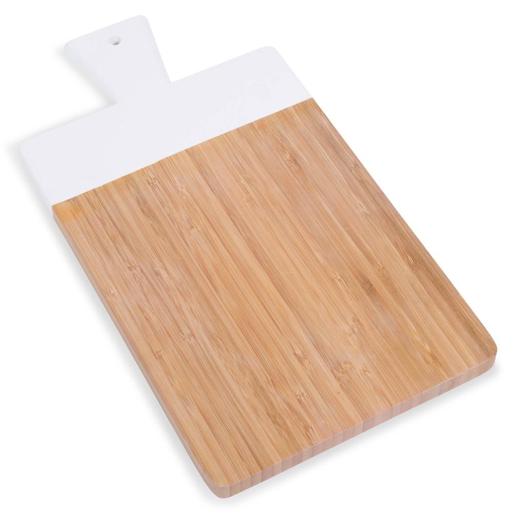 planche d couper en bambou blanc maisons du monde. Black Bedroom Furniture Sets. Home Design Ideas