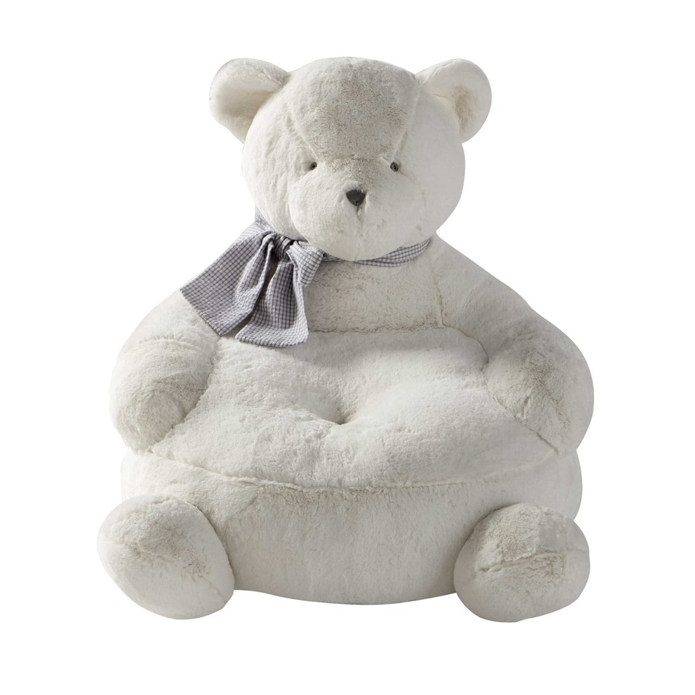 Poltrona orsacchiotto per bambini h 42 cm gaspard for Maison du monde bambini