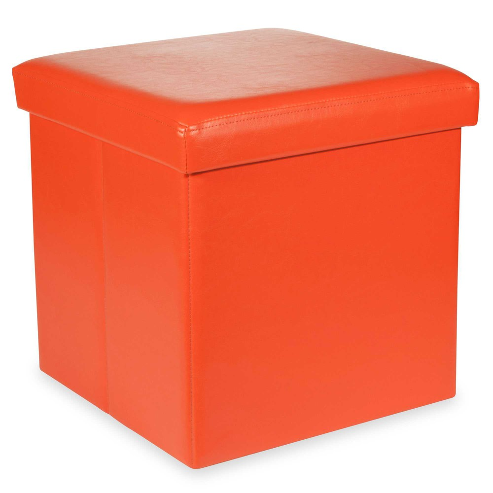 Home Decoration Chests And Trunks POP Orange Foldable