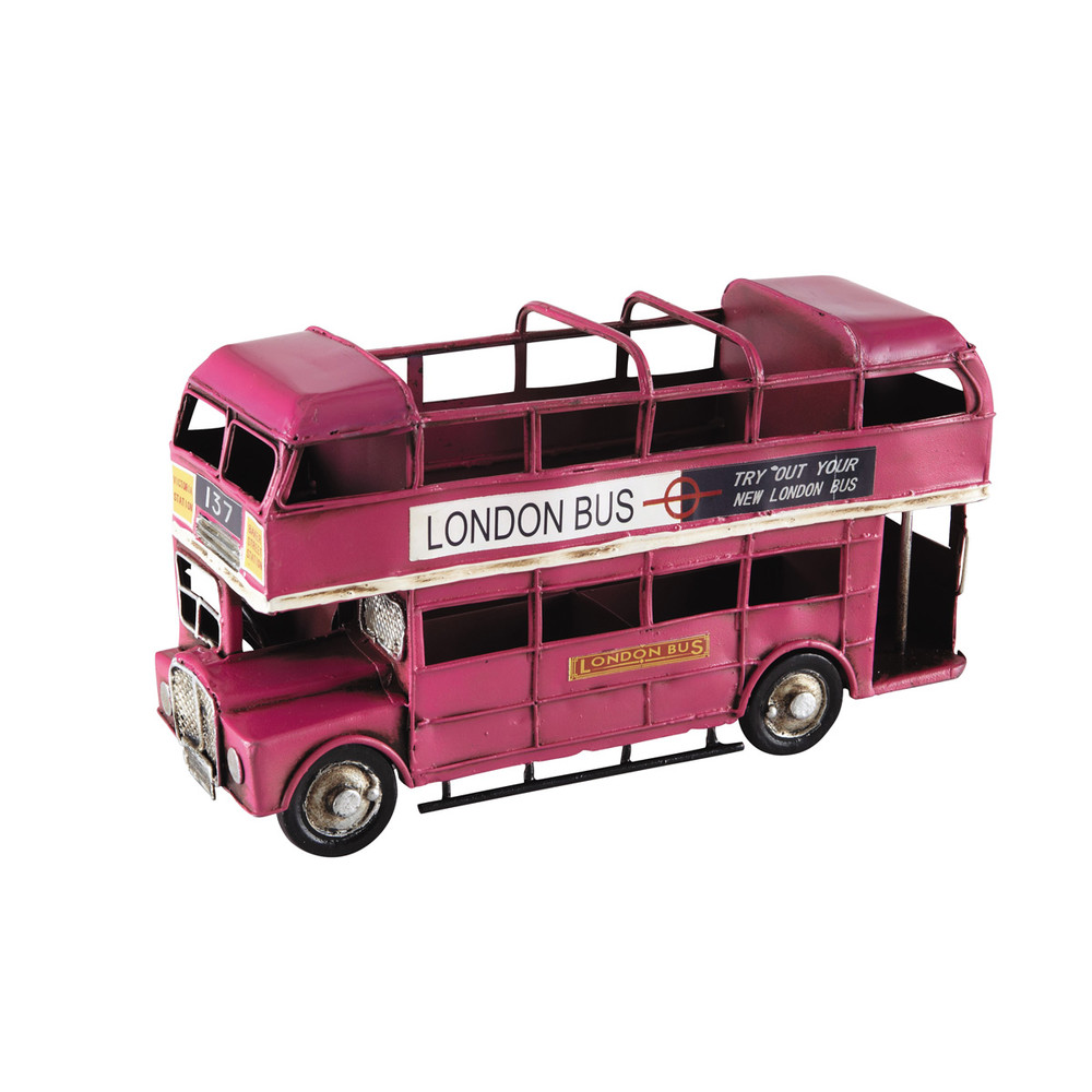 porte crayon fuchsia bus imp riale maisons du monde. Black Bedroom Furniture Sets. Home Design Ideas