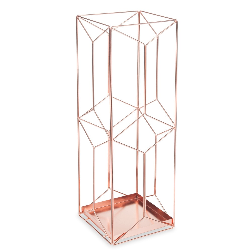 porte parapluie en m tal cuivr swaggy copper maisons du monde. Black Bedroom Furniture Sets. Home Design Ideas