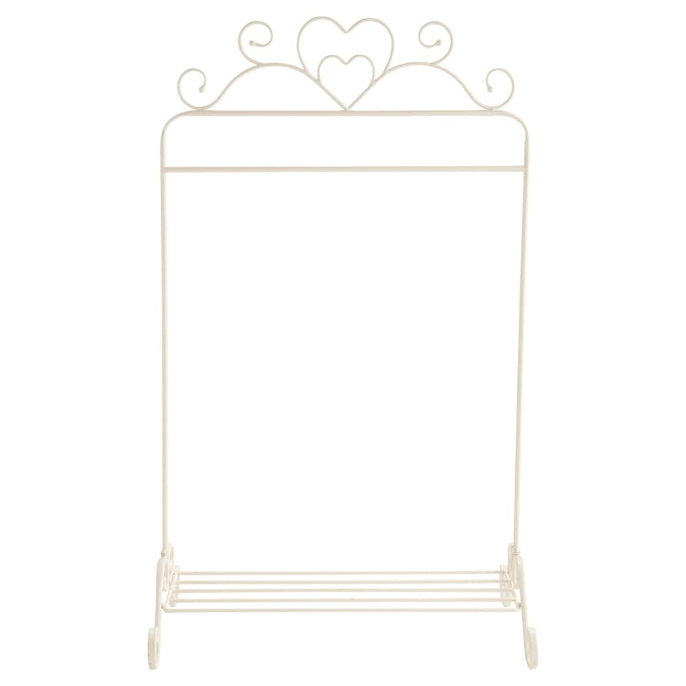 porte v tements en m tal ivoire l 75 cm coeur maisons du monde. Black Bedroom Furniture Sets. Home Design Ideas