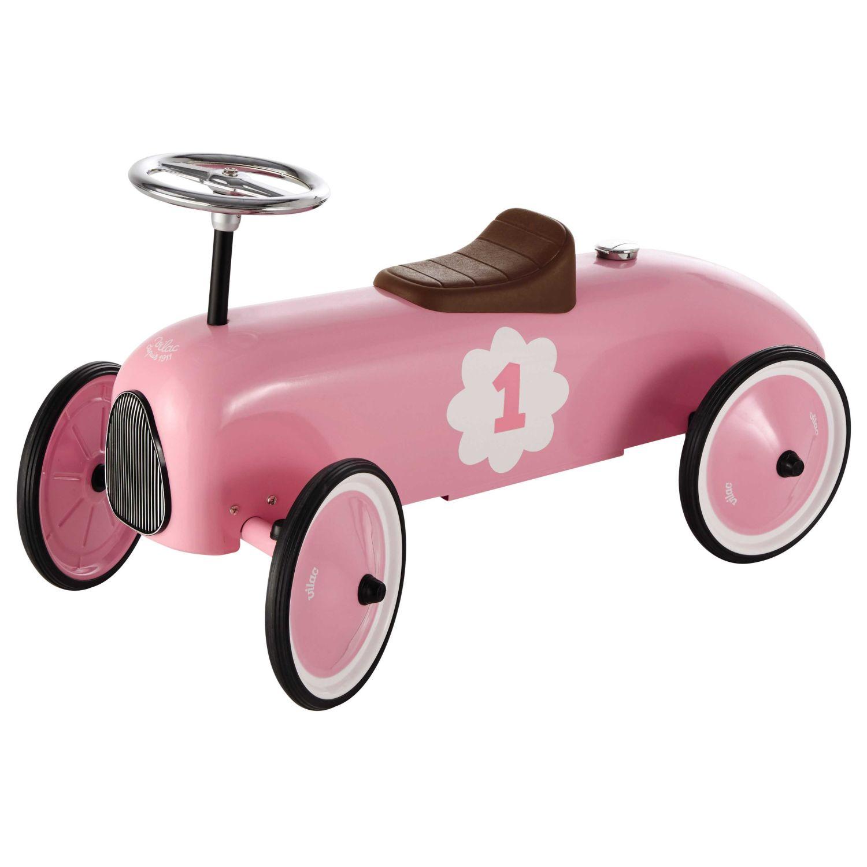 Porteur voiture en métal rose L 76 cm Vintage   Maisons du Monde 79b5f996dc1