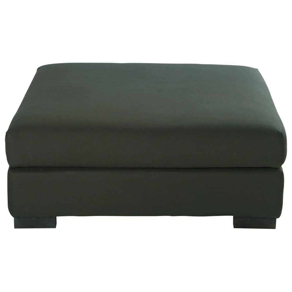 pouf de canap modulable en coton anthracite terence maisons du monde. Black Bedroom Furniture Sets. Home Design Ideas