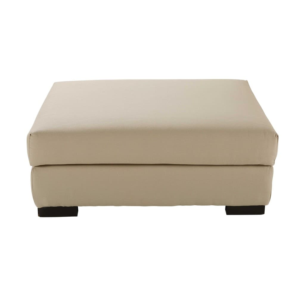 pouf de canap modulable en coton mastic terence maisons du monde. Black Bedroom Furniture Sets. Home Design Ideas