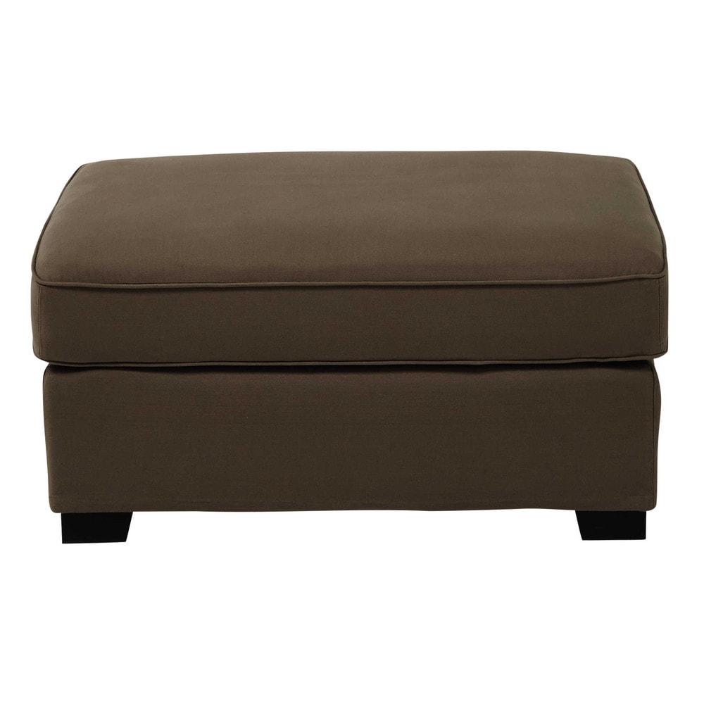 Pouf per il divano modulabile di cotone talpa milano - Divano materasso maison du monde ...