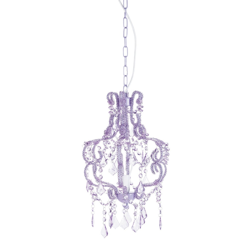princess chandelier violet maisons du monde. Black Bedroom Furniture Sets. Home Design Ideas