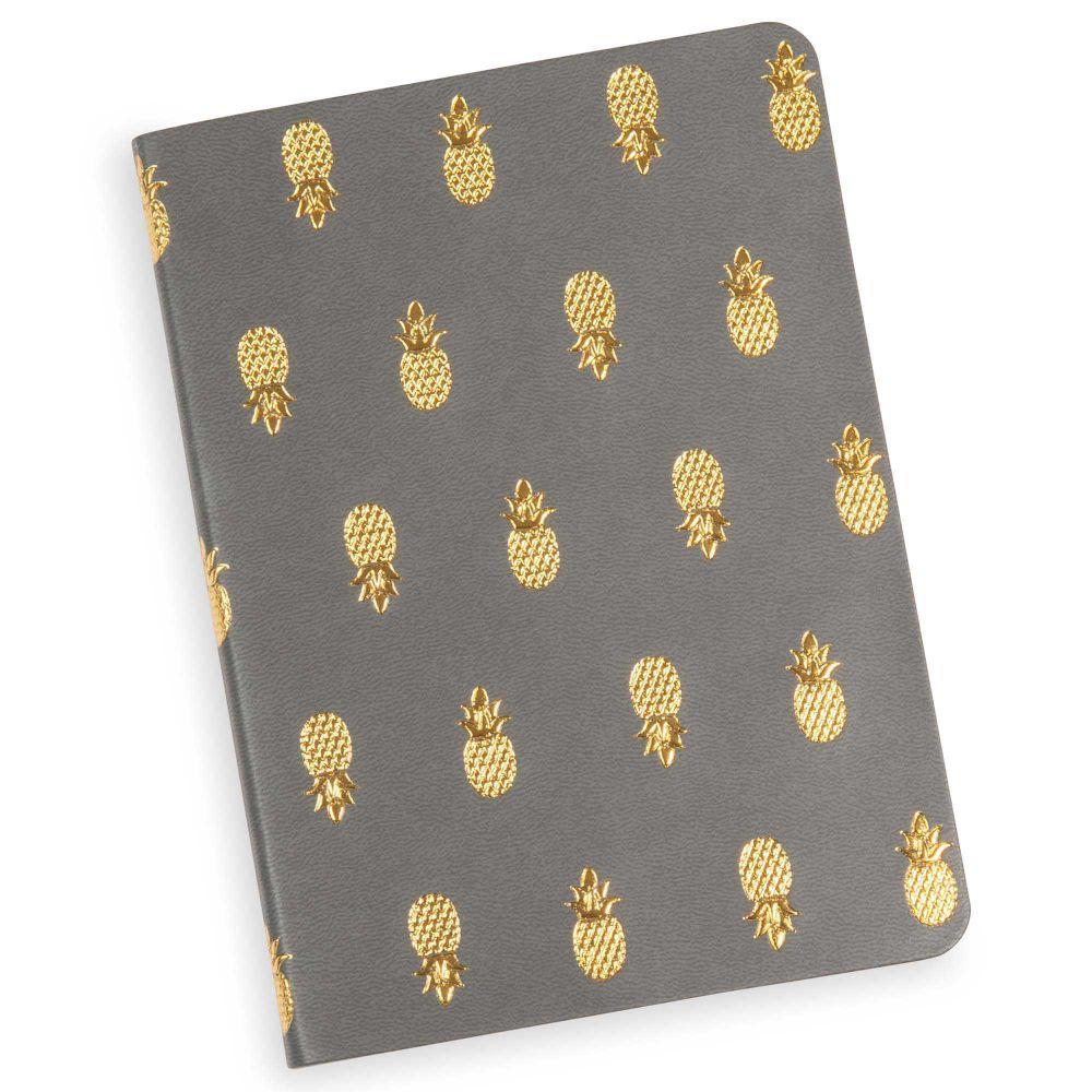 quaderno appunti 11 x 15 cm modern pineapple maisons du. Black Bedroom Furniture Sets. Home Design Ideas