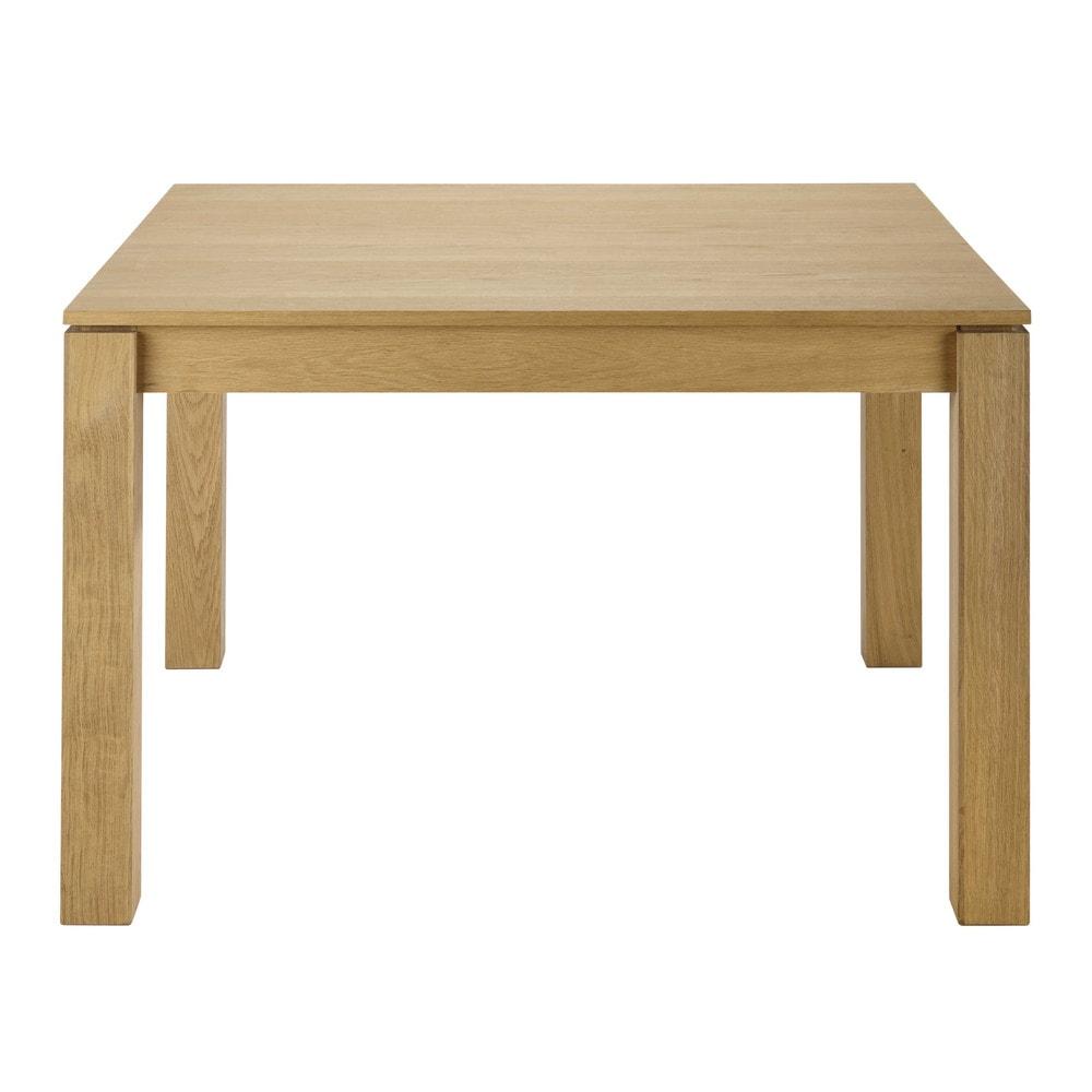 quadratischer ausziehbarer esstisch 4 bis 8 personen aus. Black Bedroom Furniture Sets. Home Design Ideas