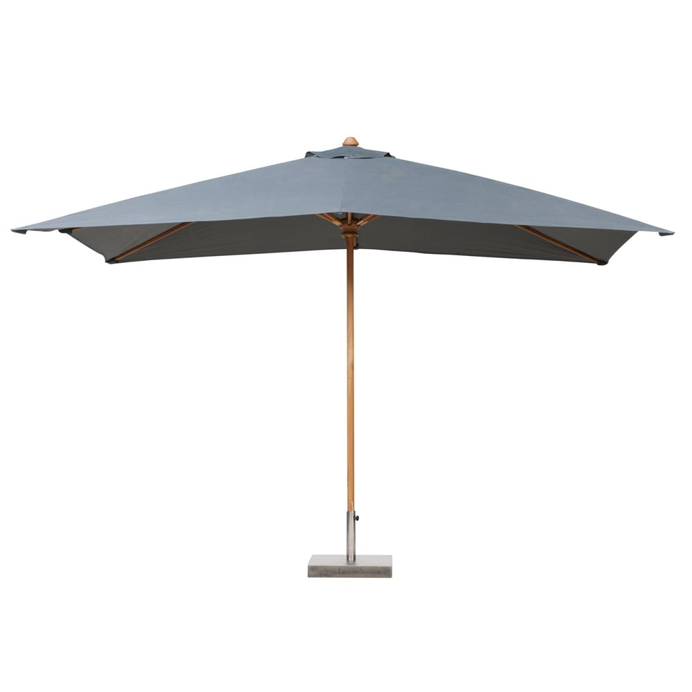 rectangular parasol in gray ol ron ol ron maisons du monde. Black Bedroom Furniture Sets. Home Design Ideas