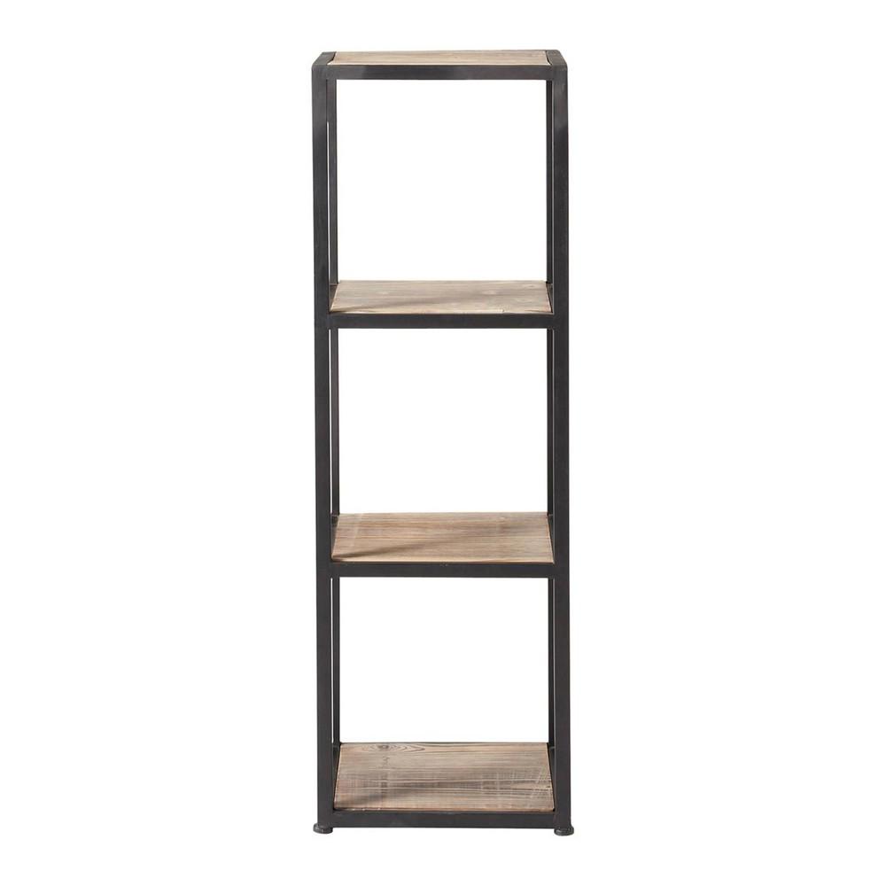 regalelement im industrial stil aus massivem tannenholz. Black Bedroom Furniture Sets. Home Design Ideas