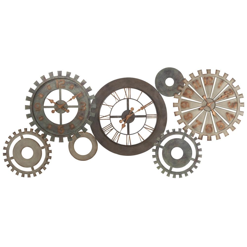 Reloj engranajes de metal an 164 cm m canisme maisons - Mecanismos de reloj de pared ...