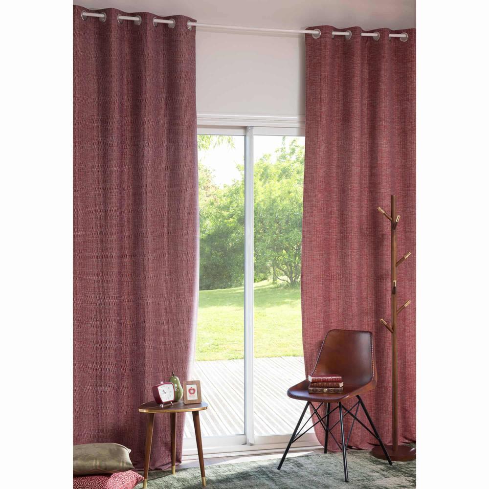 rideau illets 110 x 270 cm cox maisons du monde. Black Bedroom Furniture Sets. Home Design Ideas