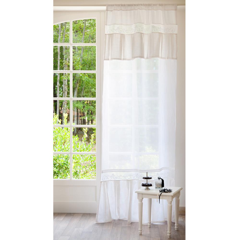 rideau pli multibande maisons du monde. Black Bedroom Furniture Sets. Home Design Ideas