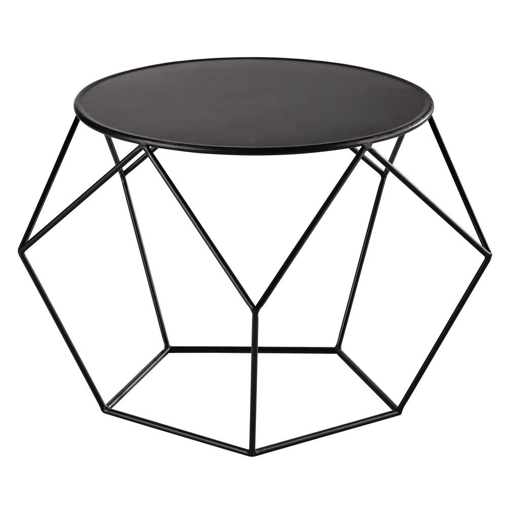 runder couchtisch aus metall d64 prism maisons du monde. Black Bedroom Furniture Sets. Home Design Ideas