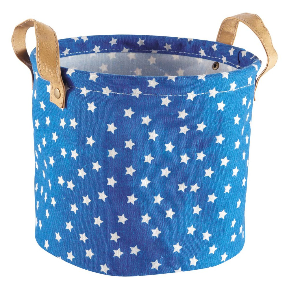 sac de rangement bleu petit mod le stars maisons du monde. Black Bedroom Furniture Sets. Home Design Ideas