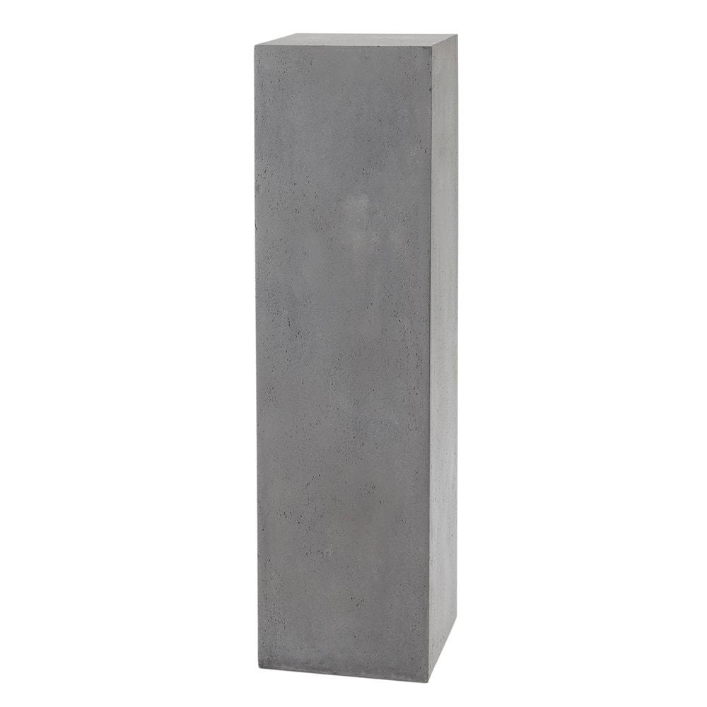 s ule betonoptik hellgrau mineral maisons du monde colonne maison du monde