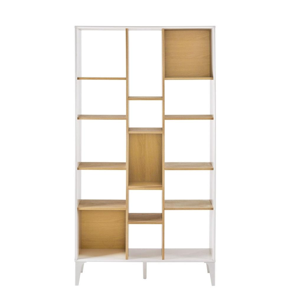 scaffale bianco kara maisons du monde. Black Bedroom Furniture Sets. Home Design Ideas