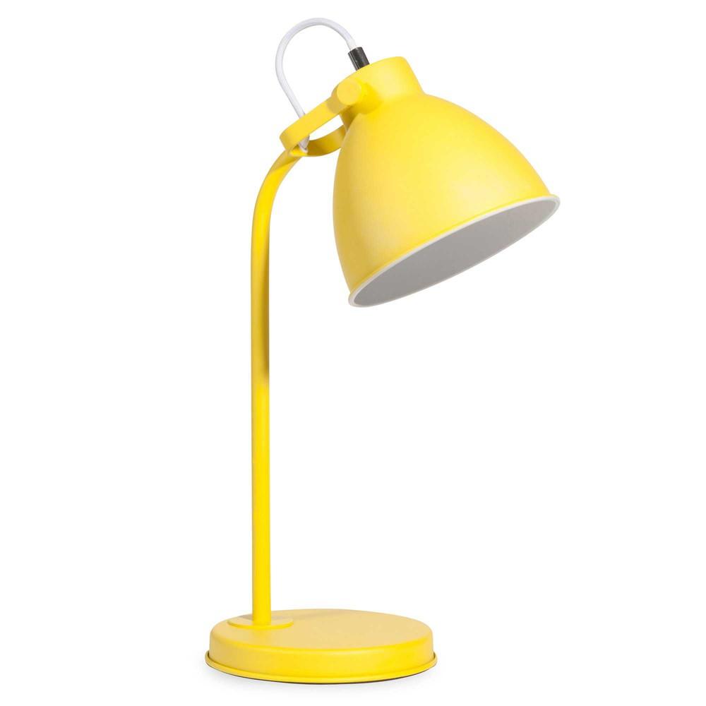 schreibtischlampe aus gelbem metall colin maisons du monde. Black Bedroom Furniture Sets. Home Design Ideas