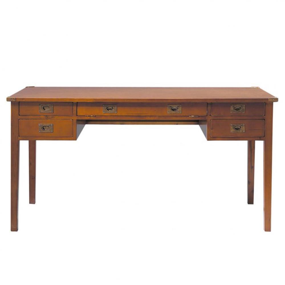 ... › Scrivanie › Scrivania in massello di legno L 151 cm VOYAGE