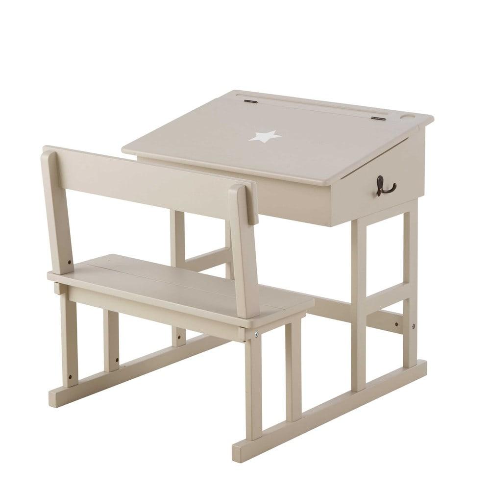 scrivania talpa per bambini pupitre | maisons du monde - Scrivania In Legno Per Bambini