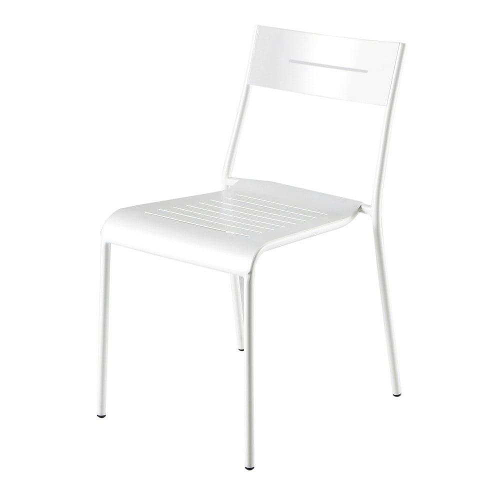 ... › Sedie da giardino › Sedia bianca da giardino in metallo SWING