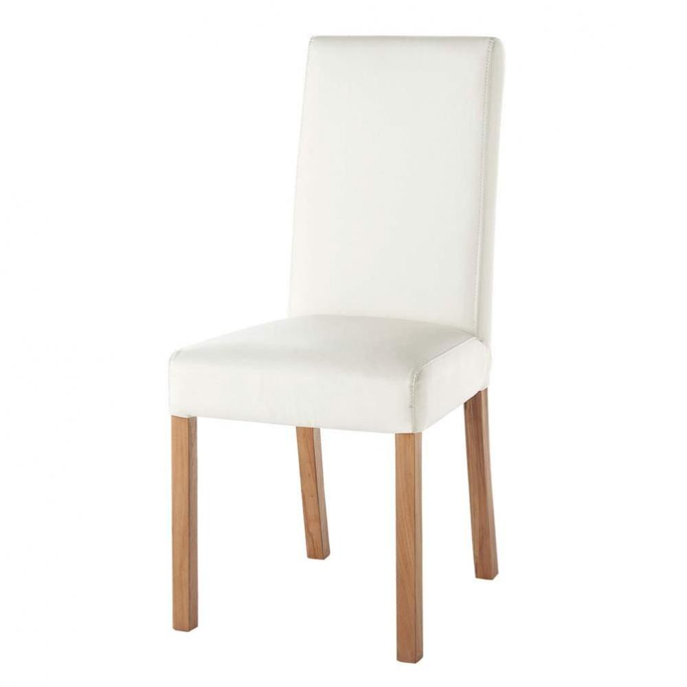 sedia bianca rotterdam maisons du monde