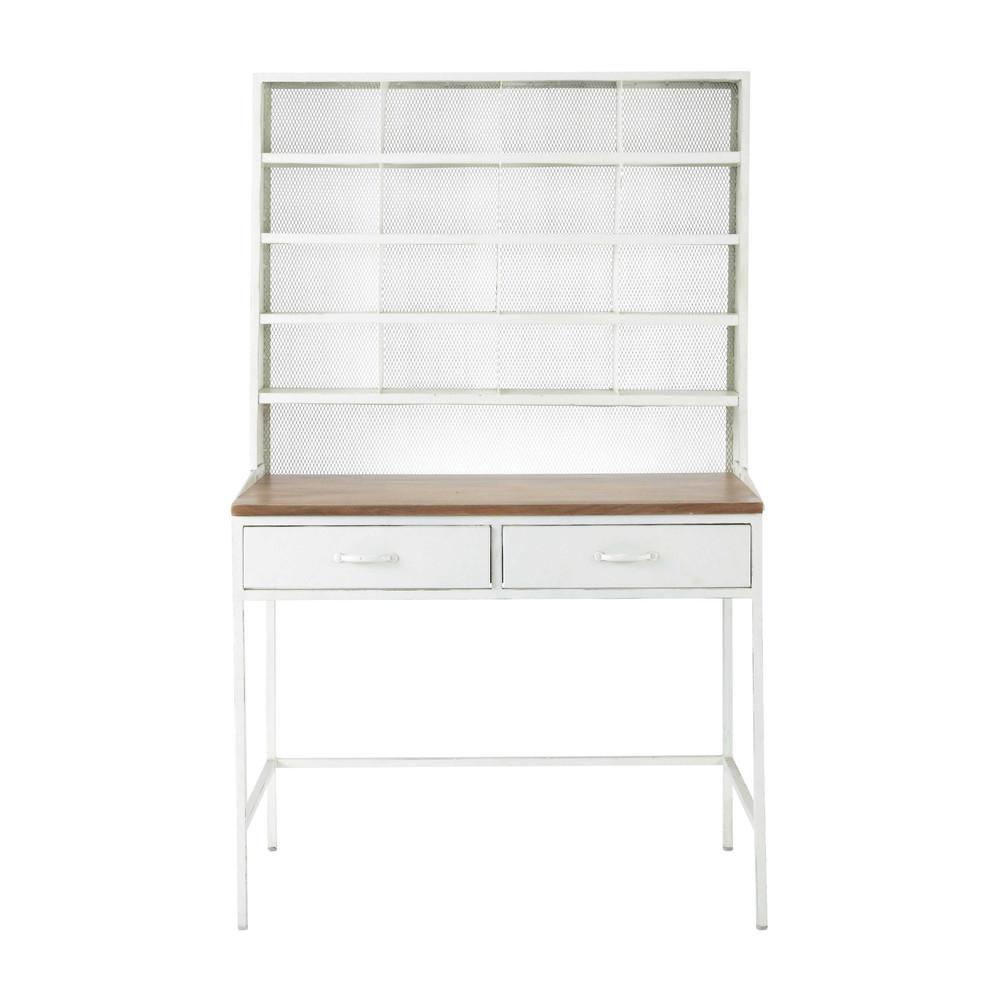 sekret r im industrial stil aus mangoholz und metall b. Black Bedroom Furniture Sets. Home Design Ideas