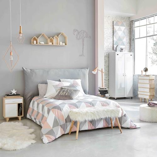 Awesome Chambre Gris Et Bois De Rose Gallery - House Design ...