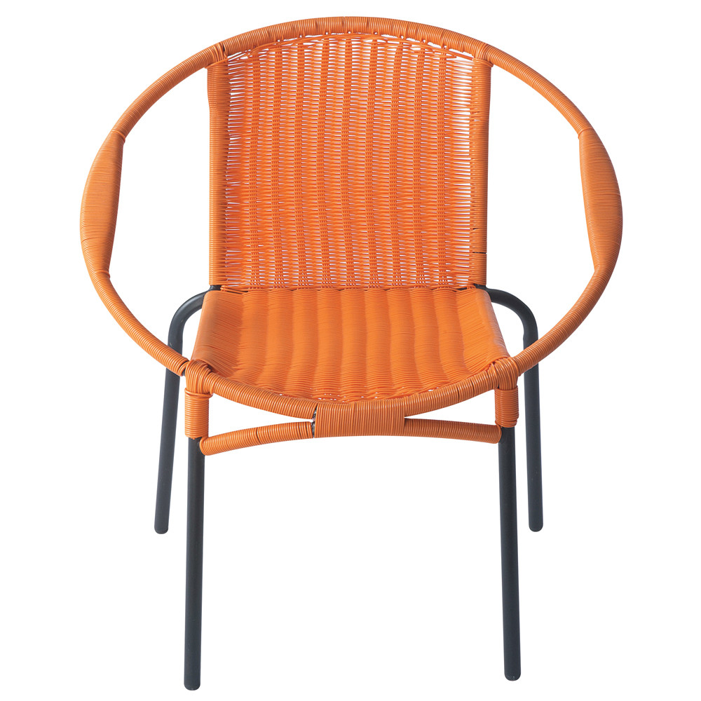 sessel orange rio rio maisons du monde. Black Bedroom Furniture Sets. Home Design Ideas