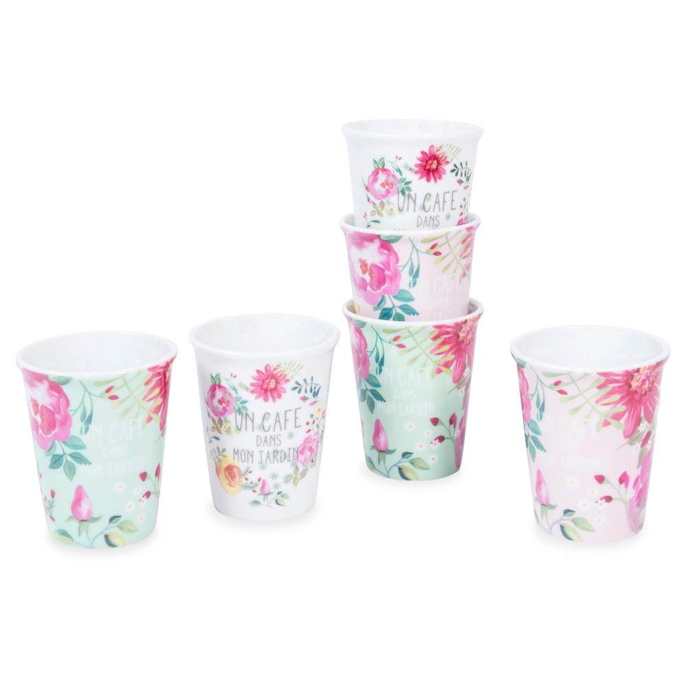 Set 6 tazze in porcellana BOHÈME Maisons du Monde