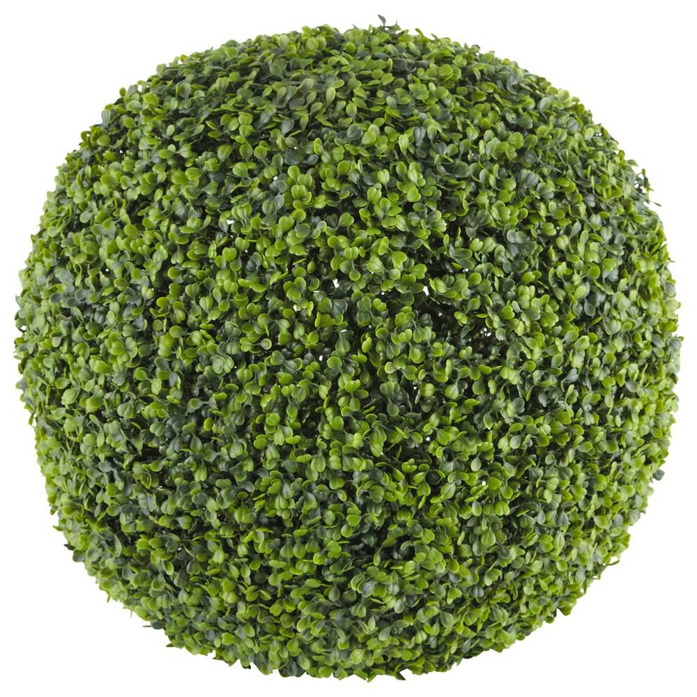 Sfera di siepe artificiale d 50 cm buis maisons du monde for Bosso siepe