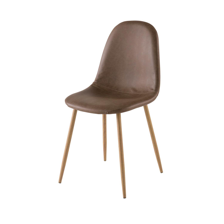 Skandinavischer Stuhl skandinavischer stuhl, braun clyde | maisons du monde