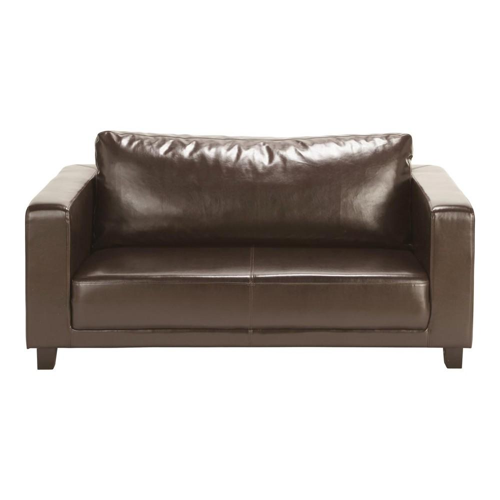 sofa 2 sitzer braun nikeo nikeo maisons du monde. Black Bedroom Furniture Sets. Home Design Ideas